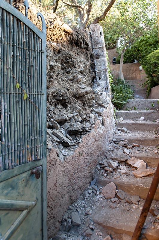 Travaux mur de soutènement Hyères
